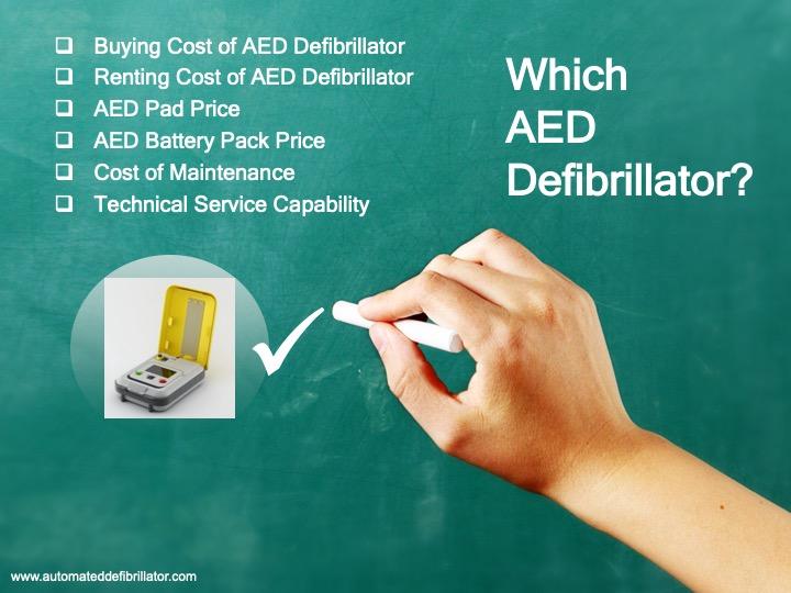 Aed Defibrillator Price